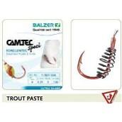 Крючки с поводком Balzer Camtec  Trout Paste140 см (уп.5 шт)