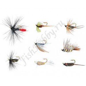 Набор мушек Balzer Trout Wet Fly and Nympf  (8 шт)