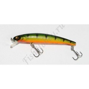 Воблер Shirasu Killer Minnow 60 SU Perch 60 mm 2.5 g