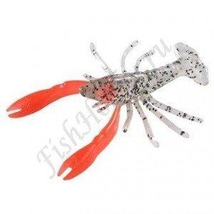 Силиконовая приманка BALZER Shirasu Crab 6см Red/Claw (5шт)
