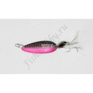 GT-Bio, Блесна колеблющаяся Single Curve II, 48 мм, 7.5 гр, Bronzing Pink
