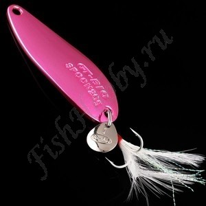 GT-Bio, Блесна колеблющаяся Single Curve II, 40 мм, 5 гр, Pink