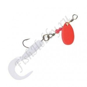 Блесна Balzer Trout Attack Twister Spinner Red