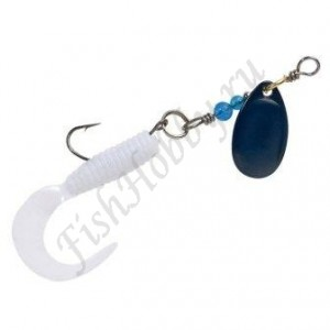 Блесна Balzer Trout Attack Twister Spinner Blue-Black