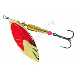 Блесна Balzer Colonel Spinner Miami Gold red