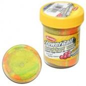 Паста форелевая Berkley Powerbait Natural Scent Glitter Trout Bait Salmon Egg Rainbow