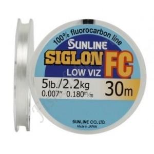 Флюорокарбоновая леска Sunline SIGLON FC 30 m Clear 0.265 mm 4.7 kg