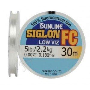 Флюорокарбоновая леска Sunline SIGLON FC 30 m Clear 0.29 mm 5.4 kg