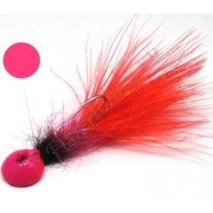 Мормышка форелевая с мушкой Pink