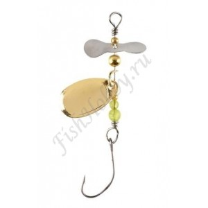 Блесна Balzer Trout Attack Prop Spin Gold