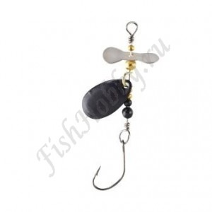 Блесна Balzer Trout Attack Prop Spin Black