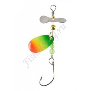 Блесна Balzer Trout Attack Prop Spin Rainbow