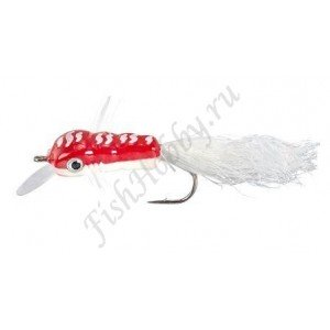 Воблер Balzer Trout Wobbler Fly King Willi red/white