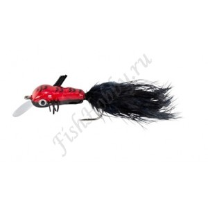 Воблер Balzer Trout Wobbler Fly King Willi red/black
