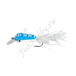 Воблер Balzer Trout Wobbler Fly King Willi blue/white