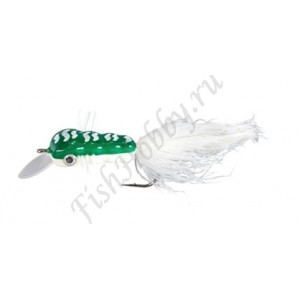Воблер Balzer Trout Wobbler Fly King Willi green/white