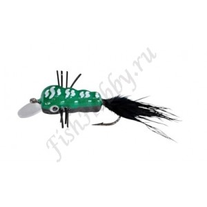 Воблер Balzer Trout Wobbler Fly King Willi green/black