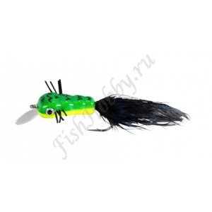 Воблер Balzer Trout Wobbler Fly King Willi green/yellow