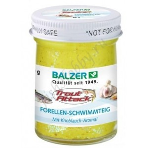Форелевая паста Balzer Trout Attack yellow