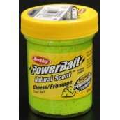 Форелевая паста Berkley Powerbait Natural Scent Troutbait Cheese Chartreuse