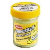 Форелевая паста Berkley Powerbait Natural Scent Trout bait Cheese Light Green