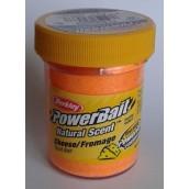 Форелевая паста Berkley Powerbait Natural Scent Trout bait Cheese Fluo Orange