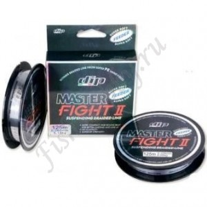Шнур плетенный PE DIP MASTER FIGHT II Feeder 0,105 мм 125 м