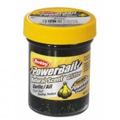 Форелевая паста  Berkley Powerbait Natural Scent Glitter Garlic, Black