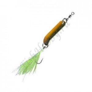 Блесна Balzer Trout Attack Agro black-orange