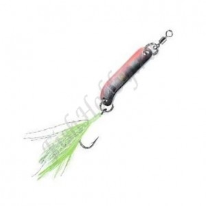Блесна Balzer Trout Attack Agro black-silver-pink