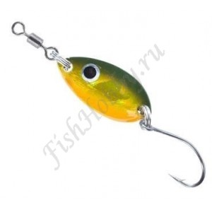 Блесна Balzer Trout Attack Leaf Black Orange