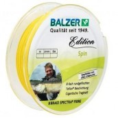 Шнур плетеный Balzer Edition Line Spin 8X Yellow 0,13