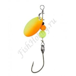 Блесна BALZER Micro Spinner UV Orange-Yellow