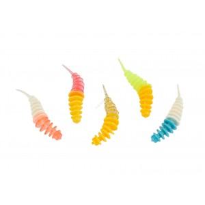 Приманка Balzer Trout Worm Аромат Рыба 5см Mix4