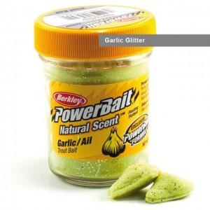 Форелевая паста Berkley Natural Scent Troutbait Garlic Glitter