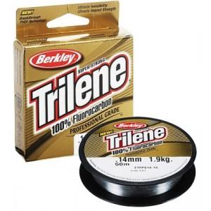 Флюрокарбоновая леска Berkley Trilene 100% Fluorocarbon 0.14 мм, 50 м, 1.9 кг