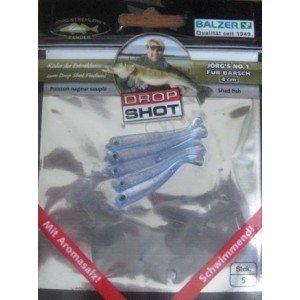 Приманка силиконовая Drop Shot Perch  40, 70 мм (уп.5 шт)