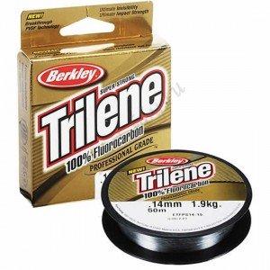 Флюрокарбоновая леска Berkley Trilene 100% Fluorocarbon 0.45 мм, 50 м, 15.6 кг
