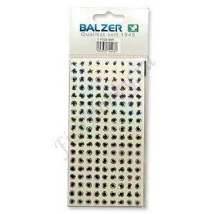Наклейка голографическая BALZER  (глаза) (в уп1шт)