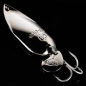 GT-Bio, Блесна колеблющаяся Cicada Spoon, 35мм, 6 гр, Silver