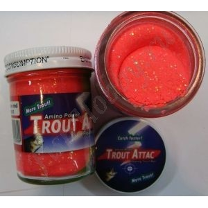 Форелевая паста Trout Attack Top Secret Красная вспышка 50 гр