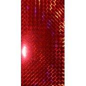 Наклейка голографическая BALZER red (2шт)