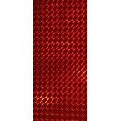 Наклейка голографическая BALZER чешуя red (2шт)