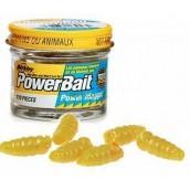Искусственный опарыш Berkley Powerbait Power Maggot, 110шт., Yellow