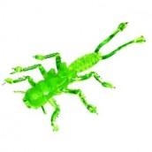 Съедобная мягкая приманка  MicroKiller Веснянка Зеленый флюо
