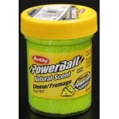 Форелевая паста Berkley Powerbait Natural Scent Troutbait Cheese Chartreuse
