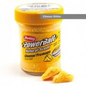 Форелевая паста Berkley Powerbait Natural Scent Trout bait Cheese Glitter