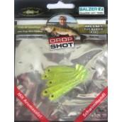 Приманка силиконовая Drop Shot Perch 40 - 70 мм (уп.5 шт)